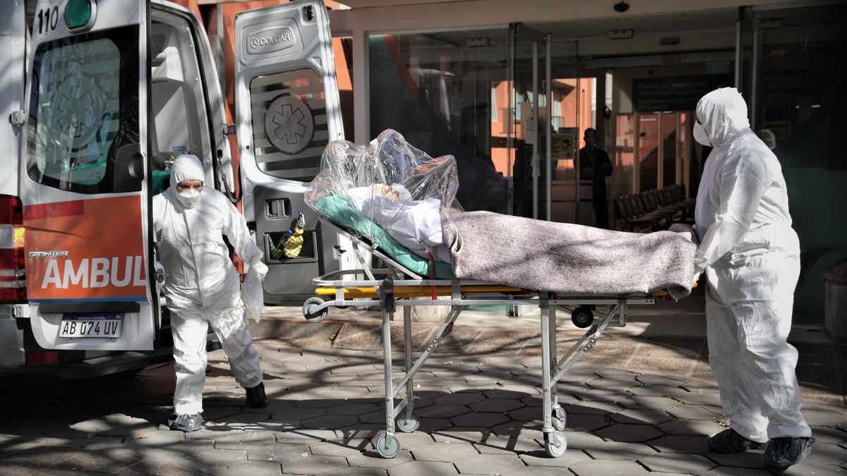 Argentina reportó 412 fallecidos por coronavirus.