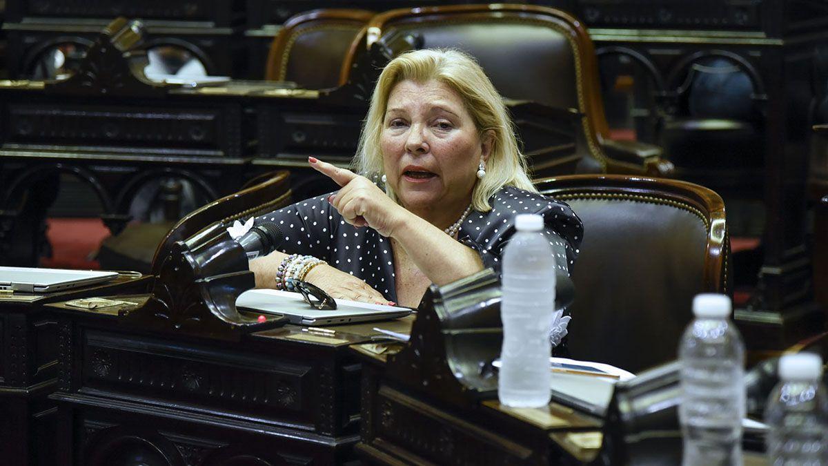 La ex diputada Elisa Carrió