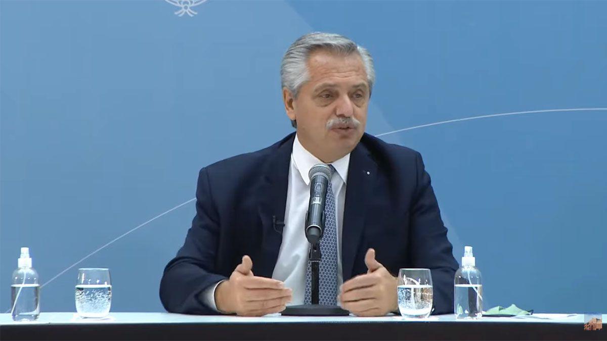 El presidente Alberto Fernández presentó el proyecto de Ley de Compre Argentino