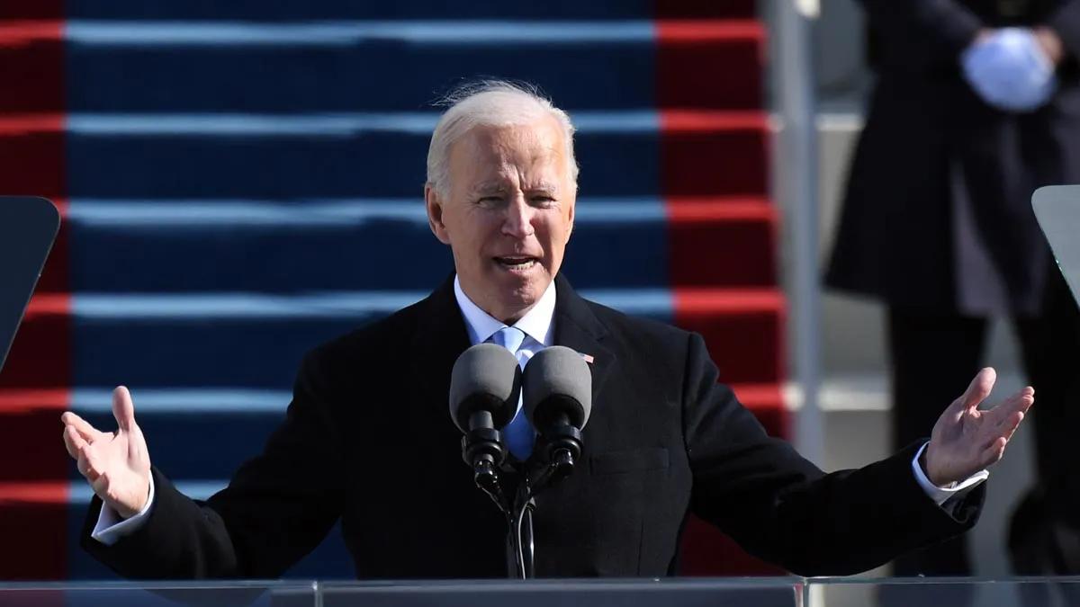 Biden dijo que Estados Unidos estaba tomando medidas concretas para alcanzar los objetivos climáticos de la ONU