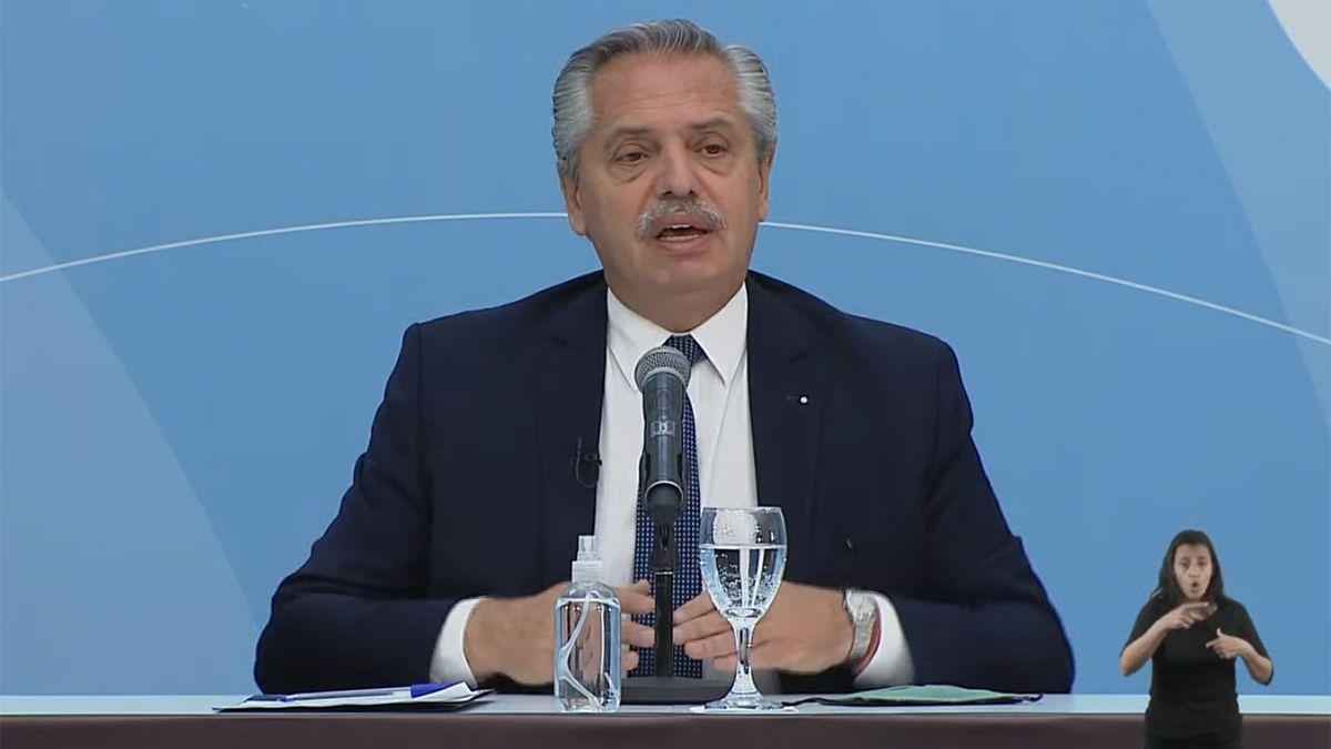 El presidente presentó el proyecto de Ley de Promoción de Inversiones Hidrocarburíferas