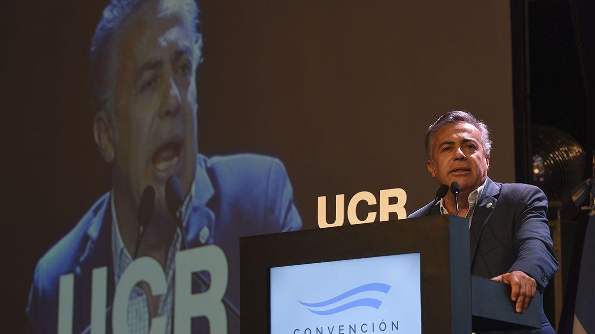 El presidente del Comité Nacional de la UCR