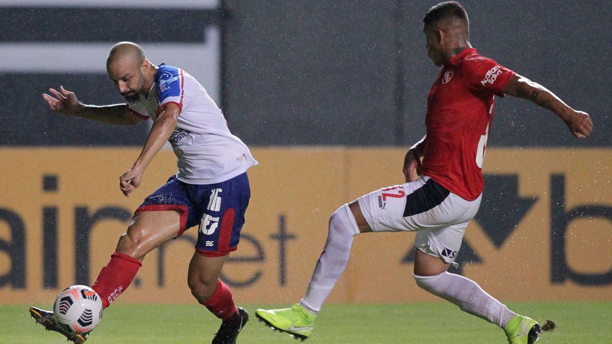 Independiente igualó 2 a 2 frente a Bahía.
