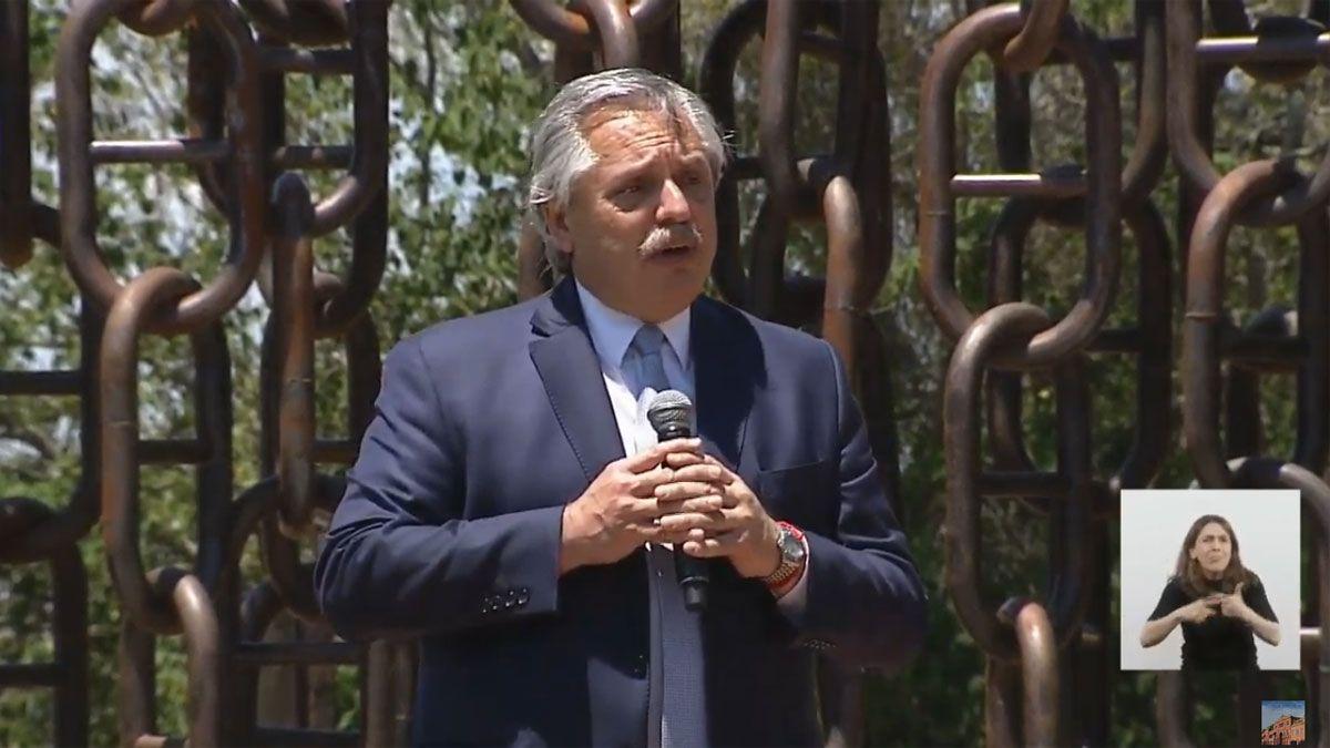 Fernández: El desafío es que de una vez por todas, en unidad, construyamos la Argentina que nos merecemos
