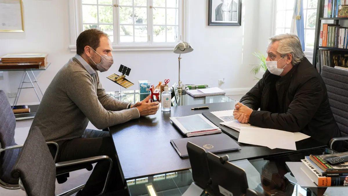 Tras el exhorto de Fernández, Martín Gill puso a disposición su cargo en Obras Públicas