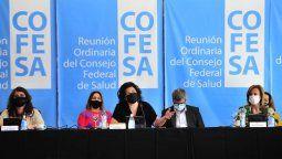 La ministra Carla Vizzotti preside en San Luis una nueva sesión del Consejo Federal de Salud (COFESA) con la presencia de las autoridades sanitarias de las 24 jurisdicciones para evaluar la situación epidemiológica y el avance del plan de Vacunación.