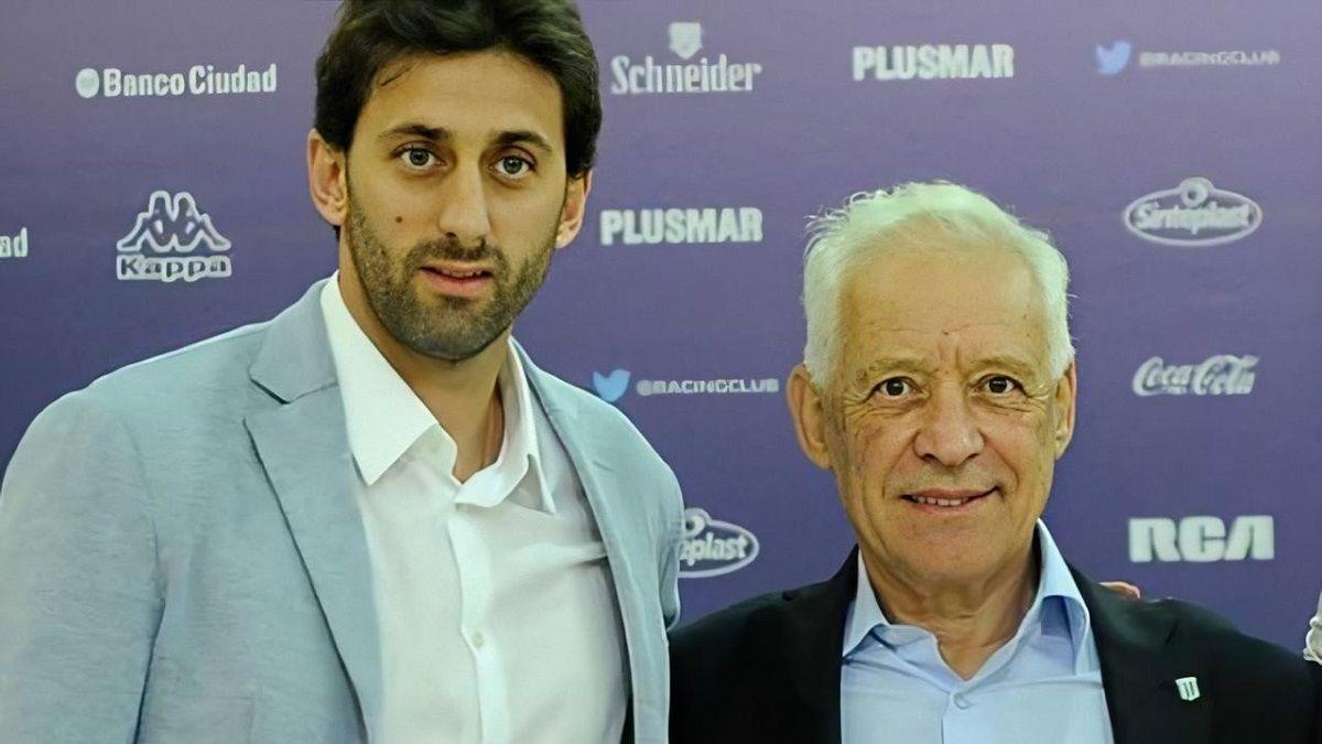 Diego Milito dejará su rol en Racing por diferencias con el presidente