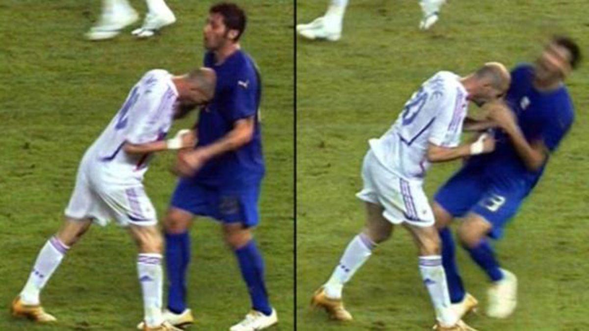 El cabezazo de Zidane y su expulsión