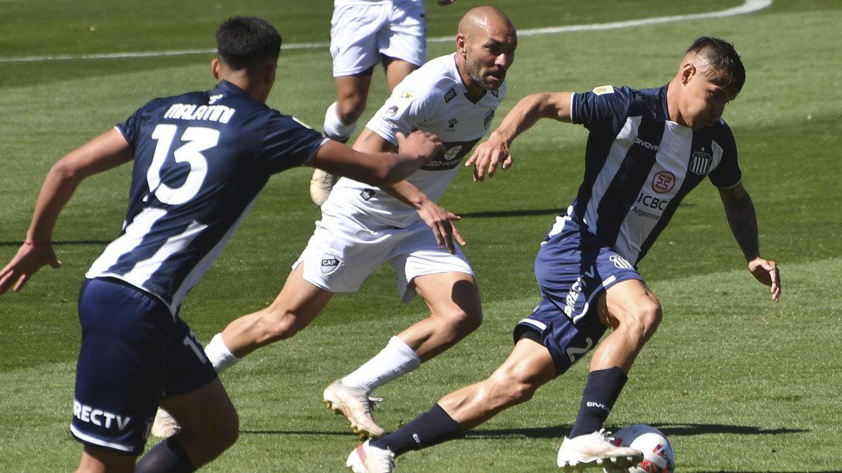 Talleres derrotó a Platense y sigue siendo uno de los líderes.