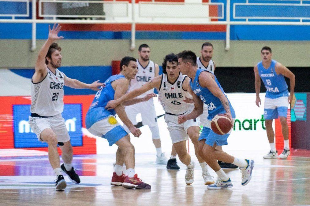 La Selección argentina masculina de básquetbol se clasificó a la Americup 2022.