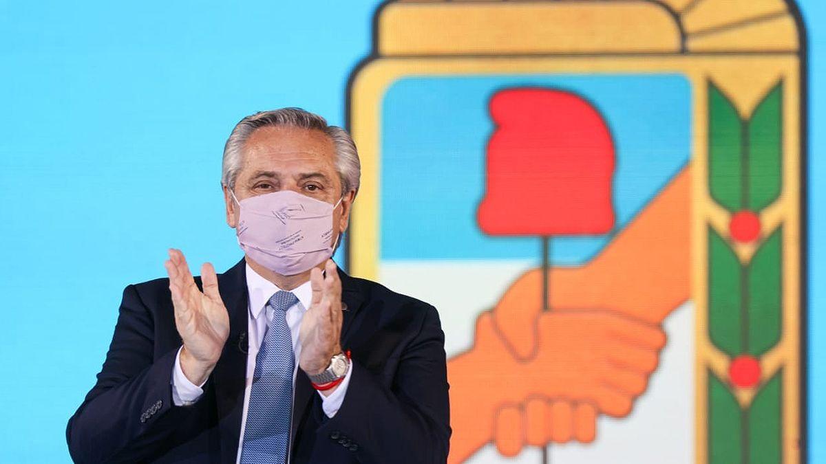 Alberto Fernández convocó a movilizarse el 17 de Octubre.