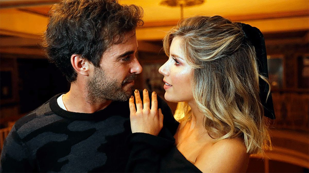 Nicolás Cabré y Laura Fernández (Foto: Panorama)