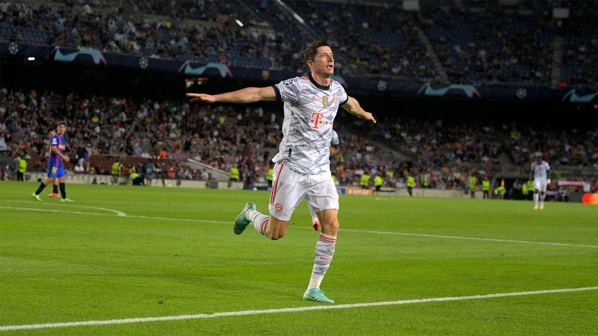El Bayern goleó a Barcelona en el Camp Nou.