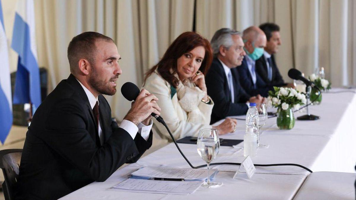 Cristina Kirchner llamó a Guzmán y le negó haber pedido su renuncia.