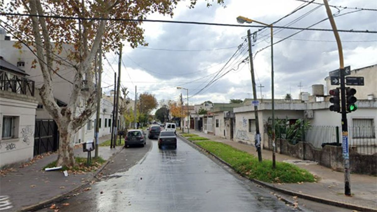 El crimen ocurrió en la esquina de las calles General Paz y Libertad