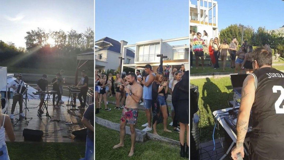Desarticularon una fiesta clandestina con más de 70 personas en Nordelta.
