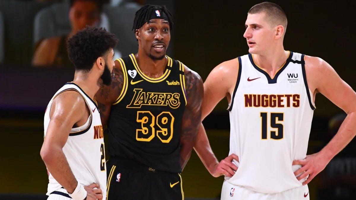 Denver Nuggets logró recuperarse y venció a Los Lakers.