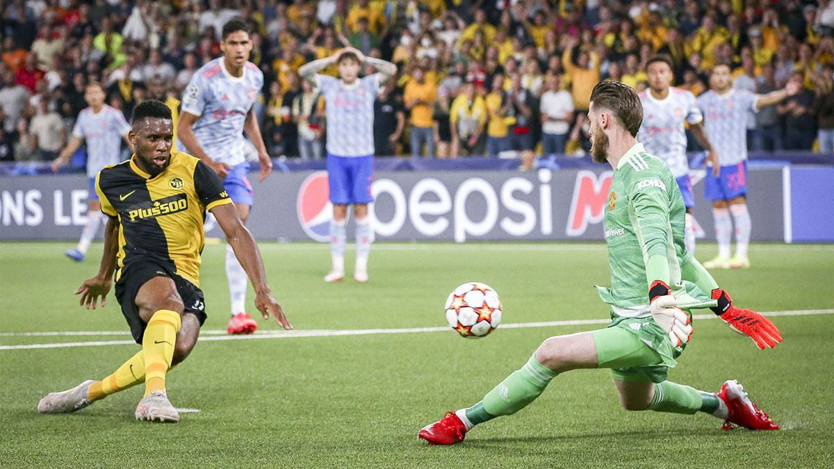 Manchester United cayó ante Young Boys.